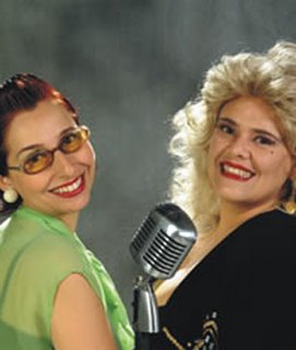 Simone Rasslan e Adriana Marques