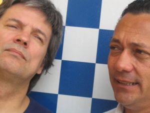 Fausto Prado e Caetano Silveira