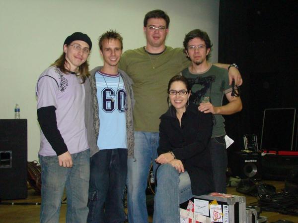 XQuinas com Denise Fontoura, saxofonista que participou do DVD do grupo