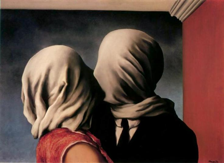 "René Magritte (""Os Amantes"", 1928)"